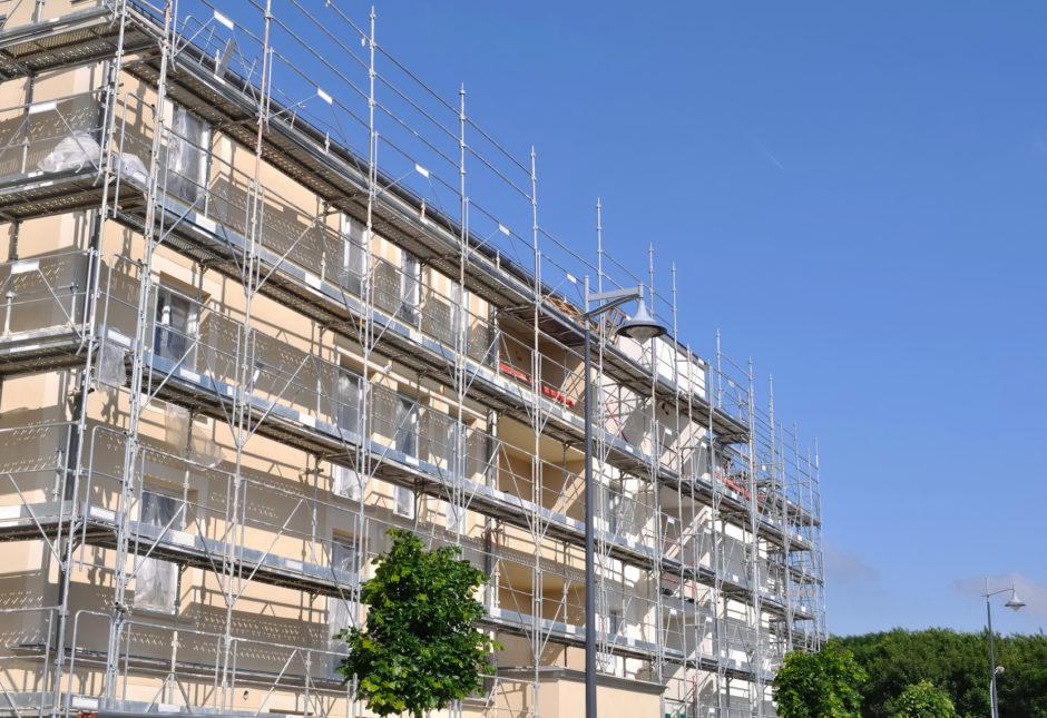 Renovación de fachadas, derrama - Administración de fincas